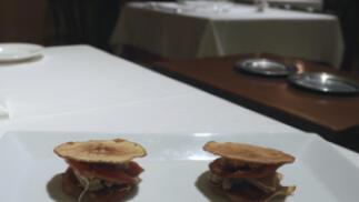 Menú Especial Restaurante El Cenador del Azul  Mesas Yantar