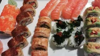 Menú japonés para dos
