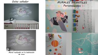 Mural personalizado. Ideal para decorar tu hogar, local o la habitación de tu bebé