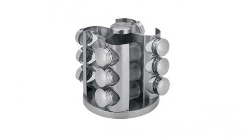 Especiero de 13 piezas con soporte giratorio