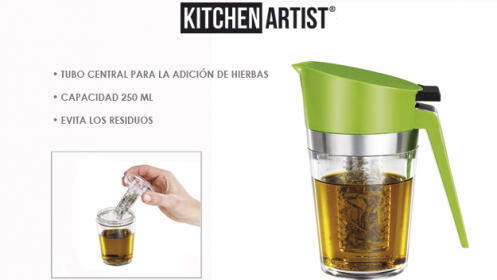 Aceiteras Kitchen Artist  Infusor o Spray