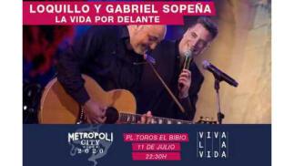 Loquillo y Gabriel Sopeña en Metropoli