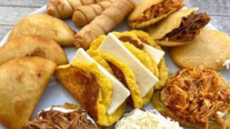 Delicioso menú venezolano para dos