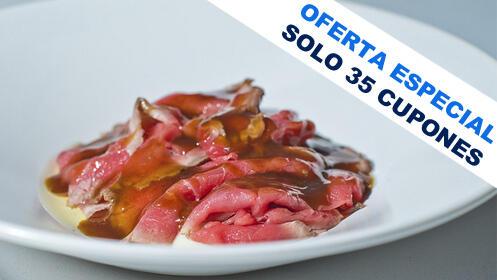 Déjate sorprender con este exclusivo menú elaborado en Roble by Jairo Rodríguez