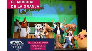 Entrada Musical de La Granja en Metrópoli