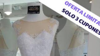 Vestido de novia artesanal a medida