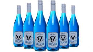 Pack de 6 vinos azul Velvet Frizzante de Marqués de Alcántara