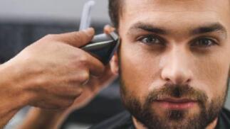 Sesión de peluquería caballero