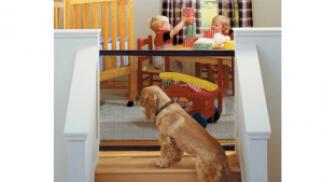 Puerta plegable portátil para mascotas