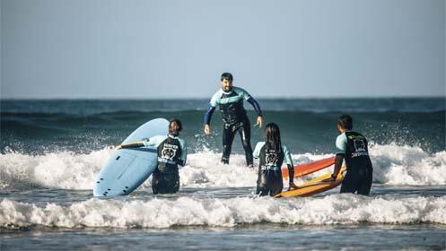 Cursos surf en Gijón