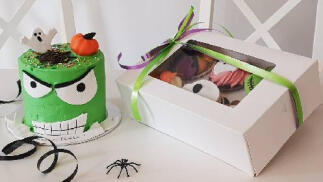 Celebra Halloween dulce: ¿Tarta o cupcakes?