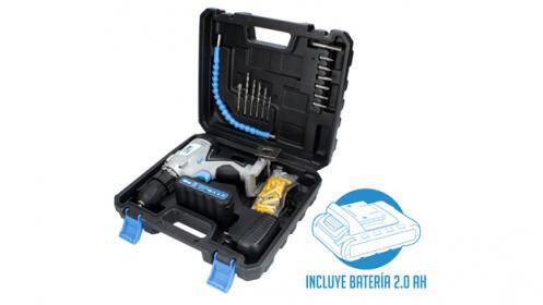 Taladro atornillador con batería de litio 21v