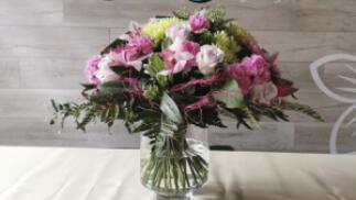 Taller de elaboración de ramos de flores