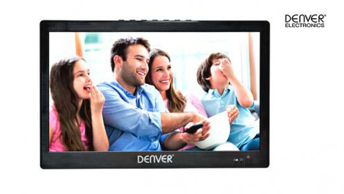 TV Portátil de 10´´ con adaptador de coche