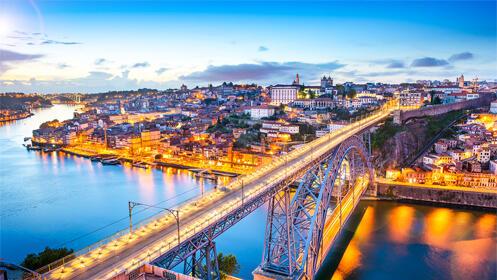 ❤️ San Valentín en Oporto: 2 noches + cena en crucero por el Duero