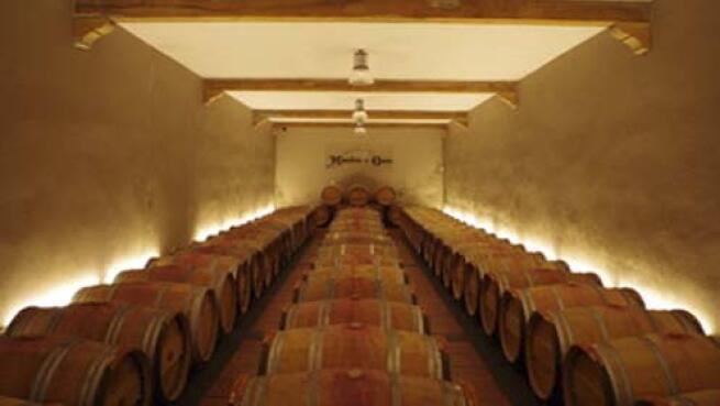 Visita y cata de vinos a Bodegas Monasterio de Corias
