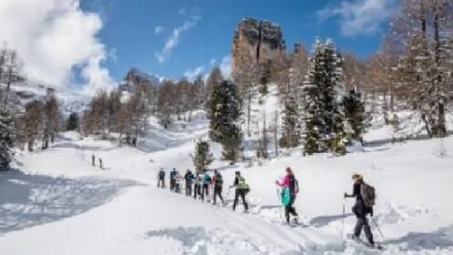 Excursión en raquetas de nieve + Reportaje fotográfico