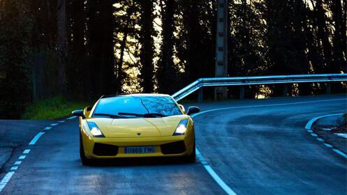 Ponte al volante de un deportivo Lamborghini