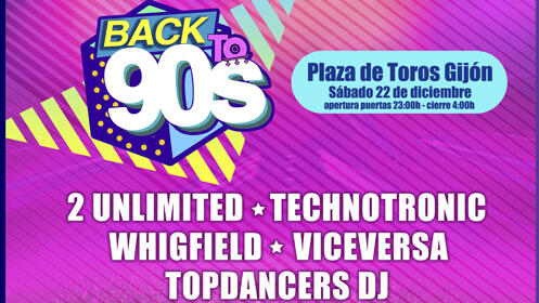 Entrada Back To The 90´S