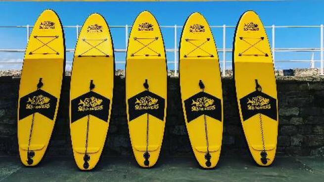 Disfruta de 1 hora de paddle surf (SUP)