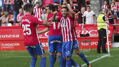 Entrada R. Sporting - S.D. Huesca